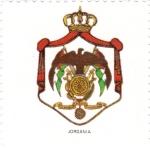 Sellos de Asia - Jordania -  escudo-JORDANIA   -sin valor postal