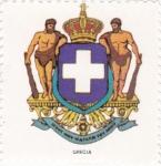 Sellos de Europa - Grecia -  escudo-GRECIA   -sin valor postal