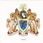Sellos del Mundo : Africa : Gambia : escudo-GAMBIA  -sin valor postal