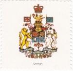 Stamps Canada -  escudo-CANADA   -sin valor postal