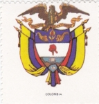 Stamps Colombia -  escudo-COLOMBIA   -sin valor postal