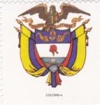 sello : America : Colombia : escudo-COLOMBIA   -sin valor postal
