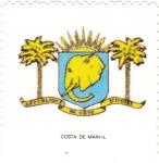 Sellos de Africa - Costa de Marfil -  escudo-COSTA DE MARFIL   -sin valor postal