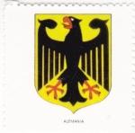 Sellos de Europa - Alemania -  escudo-ALEMANIA   -sin valor postal