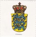 Stamps Denmark -  escudo-DINAMARCA   -sin valor postal