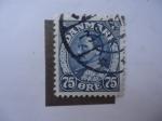 Stamps Denmark -  Cristian X.