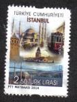 Sellos del Mundo : Asia : Turquía : Turismo - Ciudades de Turquía