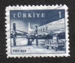 Sellos de Asia - Turquía -  Sellos postales píctoricos