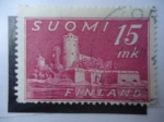 Sellos de Europa - Finlandia -  Forteresse D´Olavinlinna - (Sc/245)