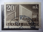 Stamps Finland -  Oficina Postal -Hilsinki - Sc./248.