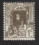 Sellos del Mundo : Africa : Argelia : Calle Kasbah