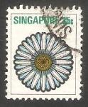 Sellos de Asia - Singapur -  194 - Estilo de flor