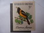 Sellos de America - Venezuela -  Fauna: Turpial (Lcterus icterus)