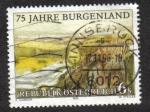 Sellos de Europa - Austria -  Burgenland , 75 aniversario