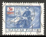 Stamps Hungary -  Sidecar
