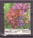 Sellos de Asia - Malasia -  flora