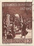 Stamps : Europe : Italy :  GIURAMENTO DI PONTIDA