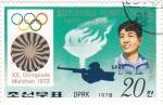 Sellos de Asia - Corea del norte -  Olimpiada Munich-72
