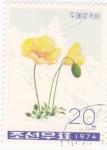 Sellos de Asia - Corea del norte -  flores