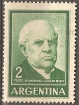 Stamps Argentina -  Domingo F. Sarmiento