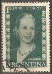 Stamps Argentina -  Eva Peron