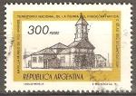 Sellos de America - Argentina -  Capilla Museo de Rio Grande