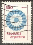 Sellos de America - Argentina -  Escarapela