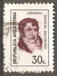 Sellos de America - Argentina -  General Manuel Belgrano