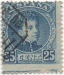 Stamps Spain -  Y & T Nº 218 (4)