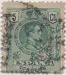 Stamps Spain -  Y & T Nº 243 (1)