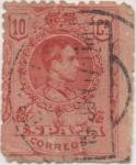 Stamps Spain -  Y & T Nº 244 (1)