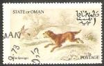 Sellos de Asia - Omán -  Perro
