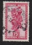 Sellos de Africa - República Democrática del Congo -  Arte Africano, Congo Belga