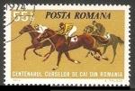 Sellos de Europa - Rumania -  Centenario carreras de caballos