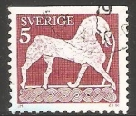 Stamps : Europe : Sweden :  Caballo