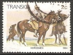 Stamps South Africa -  Hombre a caballo