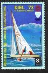 Sellos de Africa - Guinea Ecuatorial -  Juegos Olímpicos de Verano 1972 , Munich : Eventos en Kiel
