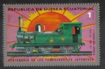 Sellos de Africa - Guinea Ecuatorial -  Locomotoras (I) Japonés