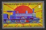 Stamps Equatorial Guinea -  Locomotoras (I) Japonés