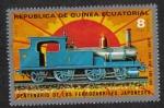 Stamps : Africa : Equatorial_Guinea :  Locomotoras (I) Japonés