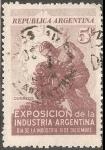 Sellos del Mundo : America : Argentina : Dia de la industria