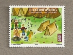 Stamps Europe - Luxembourg -  Centenario de los scouts