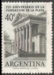 Sellos del Mundo : America : Argentina : 75 aniversario de la fundacion de La Plata