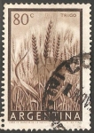Stamps of the world : Argentina :  Trigo