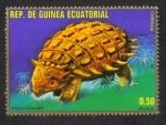 Sellos de Africa - Guinea Ecuatorial -  Animales prehistóricos (I)