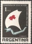 Stamps : America : Argentina :  Campaña de Educacion