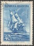 Sellos del Mundo : America : Argentina : Fragata Hercules