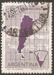 Stamps Argentina -  Censo nacional 1960