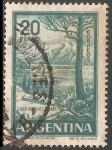 Sellos del Mundo : America : Argentina : Lago Nahuel Huapi