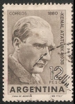 Sellos de America - Argentina -  Kemal Ataturk